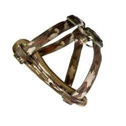 Ezy Dog Chest Plate Harness Camo small