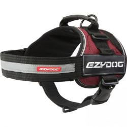 Ezydog Convert Harness Burgundy medium