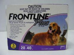Frontline Plus 20kg - 40kg - 3pk