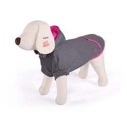 Kazoo Active Hoodie Grey/Pink 53cm