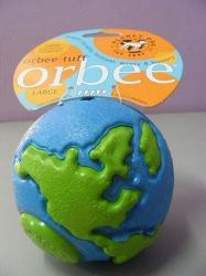 Orbee-Tuff large blue/green ball