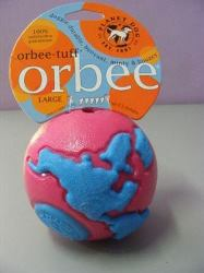 Orbee-Tuff large pink/blue ball