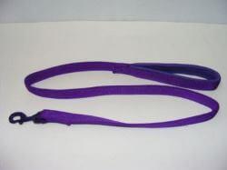 Padded Handle Lead Purple