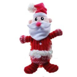 Plush Corduroy Santa