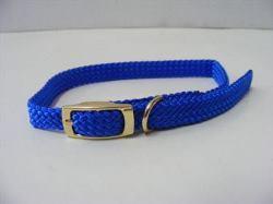 Puppy Collar Nylon Blue