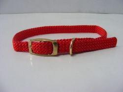 Puppy Collar Nylon Red