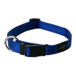 Rogz Collar Fanbelt 34-56cm Blue