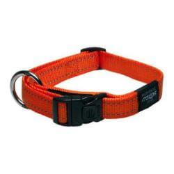 Rogz Collar Fanbelt 34-56cm Orange