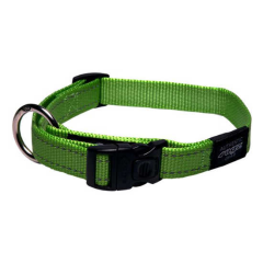 Rogz Collar Fanbelt 34-56cm Lime