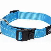 Rogz Collar Fanbelt 34-56cm Turquoise