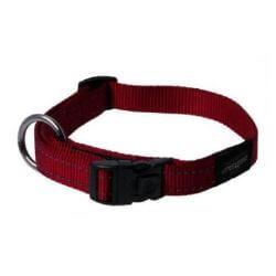 Rogz Collar Lumberjack 43-70cm Red