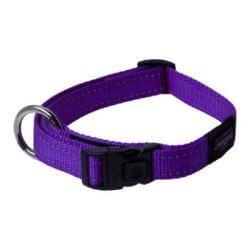 Rogz Collar Snake 26-40cm Purple