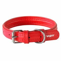 Rogz Leather Collar extra large 4660cm Assorted Colours