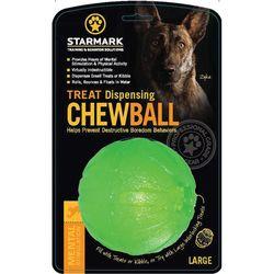 Starmark Treat Dispensing Chew Ball Large