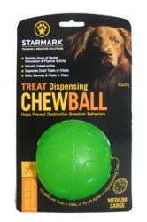 Starmark Treat Dispensing Chew Ball Medium/Large
