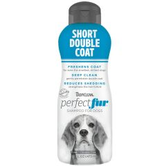 Tropiclean Perfect Fur Short Double Coat Shampoo 473ml