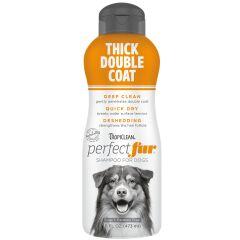 Tropiclean Perfect Fur Thick Double Coat Shampoo 473ml
